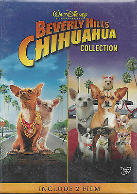 2 Dvd Box Walt Disney **BEVERLY HILLS CHIHUAHUA** Collection include 2 film New