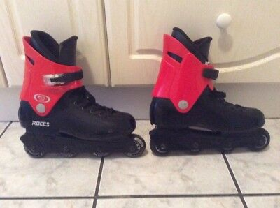 ROCES FCO ROME Inline Skates Mens UK Size Med 45 Actually Uk 8 Or 9 Really Retro