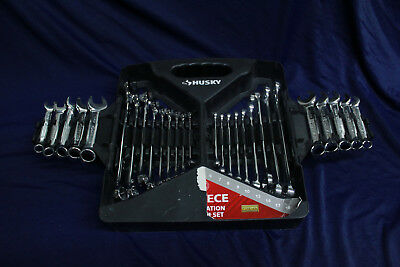 Husky 28-Piece SAE and Metric Combination Wrench Set