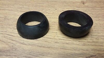 PR *** H4387 TRIUMPH T140 TR7 BONNEVILLE 1979on FORK STANCHION TOP LOWER NUT