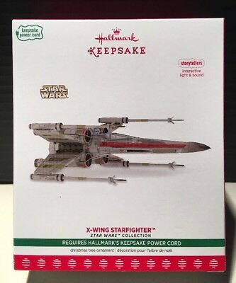 2017 Hallmark Keepsake Ornament X-Wing Starfighter Star Wars Storytellers NIB