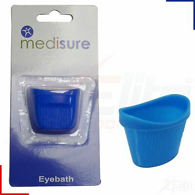 Medisure One Size Eye Bath Plastic Eyewash Cup Cleaning First Aid