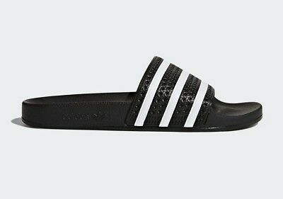 74843330f67b ADIDAS ORIGINALS MEN S ADILETTE Slides Black 280647 b -  40.49 ...