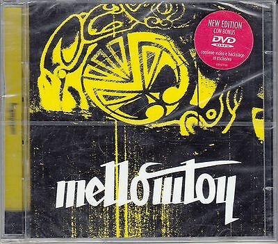 CD ♫ Compact disc + Dvd «MELLOWTOY ♦ OMONIMO» nuovo