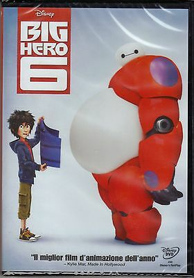Dvd Disney **BIG HERO 6** nuovo 2014