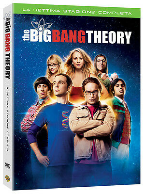 3 Dvd Box Cofanetto **THE BIG BANG THEORY ~ STAGIONE 07** nuovo sigillato