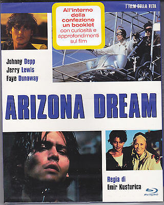 Blu-ray **ARIZONA DREAM** di Emir Kusturica con Johnny Depp nuovo slipcase 1992
