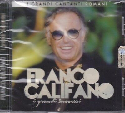 CD ♫ Audio «FRANCO CALIFANO ~ I GRANDI SUCCESSI» nuovo sigillato