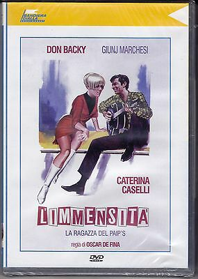 Dvd «L'IMMENSITÀ ♦ LA RAGAZZA DEL PAIP'S» con Don Backy Caterina Caselli 1967