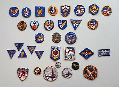 WWII US Army Air Force Patch Lot