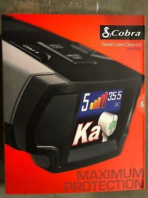 "Cobra SPX-7700 UltraHigh Performance Radar/Laser Detector 1.25"" OLED Display NEW"