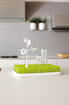 White Boon Twig Grass & Lawn Bottle Cup Accessory Drying Rack White Twig