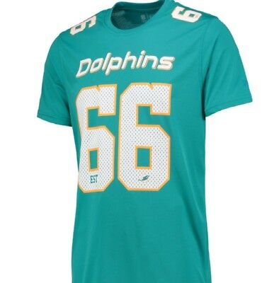 MIAMI DOLPHINS NFL T-Shirt Mens Size ( LARGE ) POLY MESH new ... 631c1575c