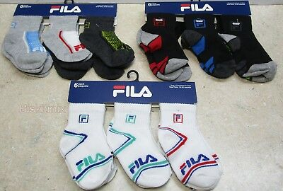 18 Pairs of FILA Boys,Girls, Multicolor  Socks. For, Baby, Toddler 18-24  Months