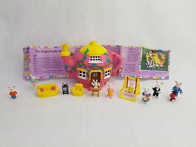 Teeny Weeny Families Hippity Hop Cafe Tea Pot Almost complete Polly Pocket Style