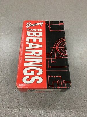 "New In Box Browning Pillow Block Bearing 1-1/2"" Bore Vps-124"