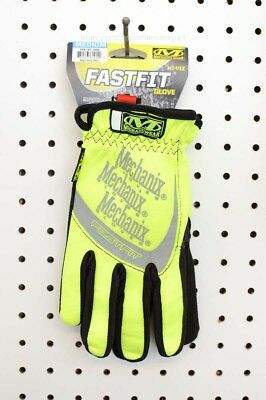 Mechanix FastFit Hi-Viz Safety Sport Hazard Work Gloves (SFF-91-009, Medium)