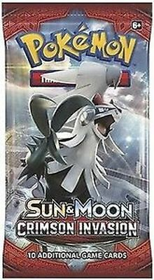 1x Pokemon Sun & Moon Crimson Invasion - Sealed Booster Packs