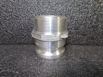 Dixon® Cam & Groove Type F Adapter x Male NPT (K)