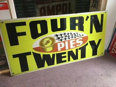 Four'n'Twenty Reproduction Composite Sign