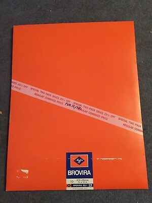 Agfa Brovira Special Glossy Single Weight Photo Paper 20 Pc 11 X 14