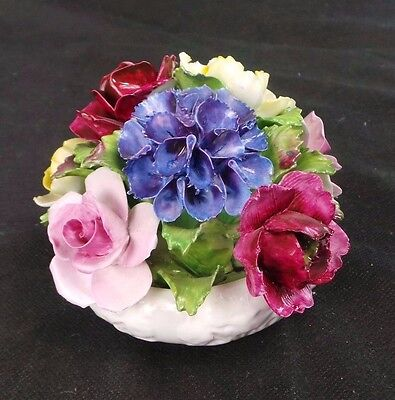 Vtg Aynsley Capodimonte Roses Made In England
