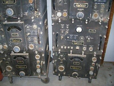 1 large lot of millitary radios.