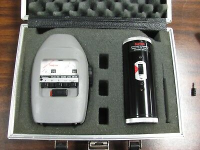 Simpson 885 & 889 Sound Level Meter & Calibrator With Case