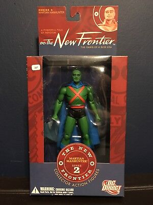 DC Direct The New Frontier Martian Manhunter Action Figure, Brand New!