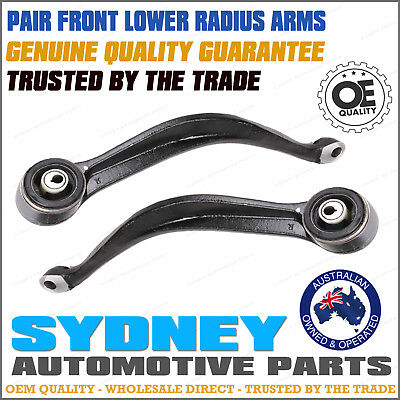 Front Lower Control Arm Radius Castor Caster Arm PAIR for Ford Territory SX SY