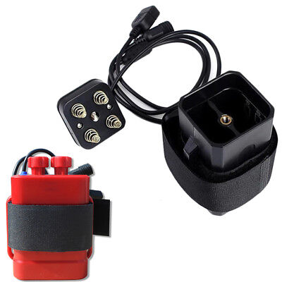 18650 House Cover Waterproof Battery Pack Case For Motorcycle Bicycle Bike Lamp