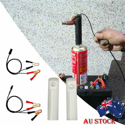 AU! Car Vehicle Fuel Injector Flush Cleaner Adapter Cleaning Tool Nozzle DIY Kit