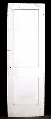 "2 availble 26""x79"" Antique Vintage SOLID Wood Wooden Interior Pantry Closet Door"