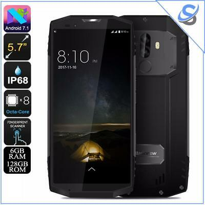 Blackview BV9000 Pro Rugged Phone Octa-Core Android 7.1 6GB RAM IP68 Gray