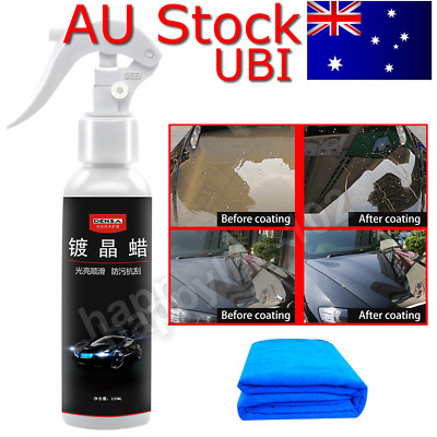 Anti-Scratch Hydrophobic Glass Coating Car Liquid Ceramic Coat Paint Care AU