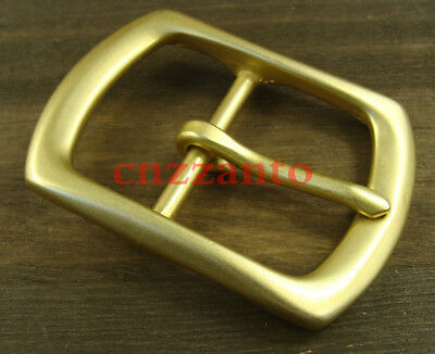 "Heavy duty Solid Brass Classical Tongue Pin Hippie Belt Buckles 1 1/2"" Z264"