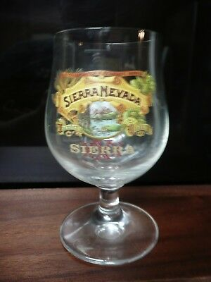 5 inch  Sierra Nevada Brewing beer glass classic