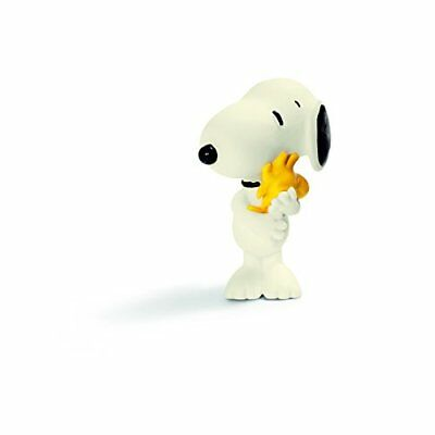 Schleich Peanuts Snoopy Hugging Woodstock Figure NEW FREE SHIPPING