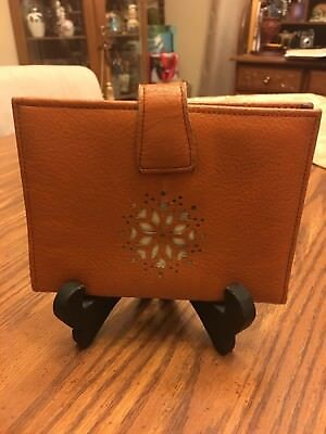 Vintage Tan Leather Wallet
