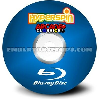 Hyper spin MAME Arcade Blu-Ray Disc Set
