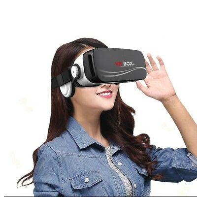 Casque VR BOX III Owl Virtual Reality 3D lunettes vidéo iPhone Samsung Huawei Xi