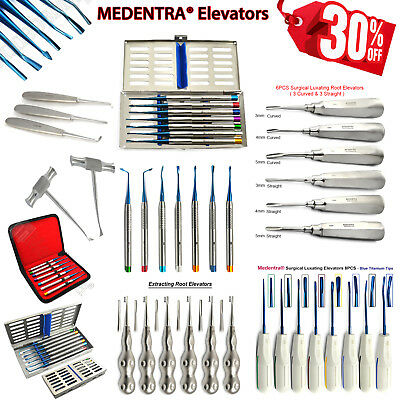 Dental PDL Luxating-Coupland-Cryer-Surgical Vet Tooth Extraction Elevators CE