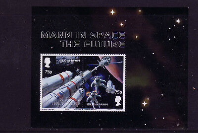 2003 Isle of Man Involvement in Space Exploration MS1055 MNH