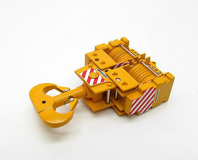 450 TON - 18 Sheaves Crane Hook BLock / 1:50 Scale By YCC 206-2