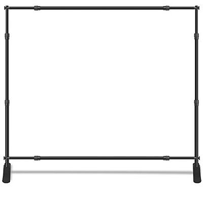 New 10'x8' Commercial Alluminum Backdrop Tube Display Office Booth  - No Banner