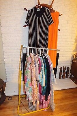Vintage Clothing Lot 12 Pcs Womens 50s 60s Dresses Formal Blouses Resell Lot