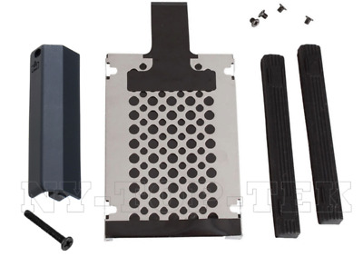 HDD Hard Drive Cover Caddy Rails Screw Set For IBM LENOVO Thinkpad T420 T420i
