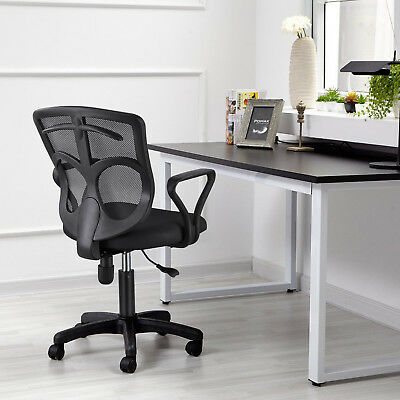 Height Adjustable Office Chair Mesh Swivel Computer Desk Gas Lift High Quality