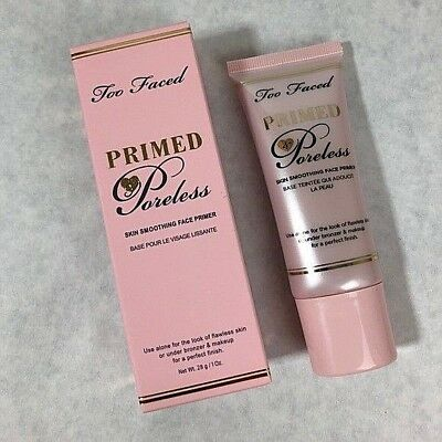 Too Faced Primed Poreless Skin Smoothing Face Primer Full Size NEW