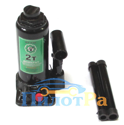 Jack hydraulic 2t in a box at-230 two-stem